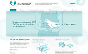 Logo design and website design and development for BAMOZOID