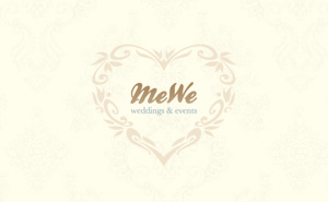 Website development, logo and corporate identity for Me We Events