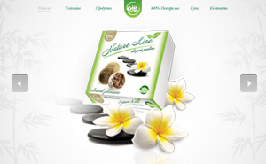 Website development for Nature Line
