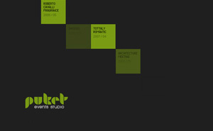 Logo design, corporate style and flash website design and development for Puket Events