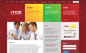 Web design for ITCE