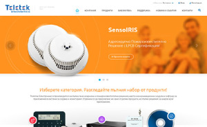 Website development for Teletek Electronics